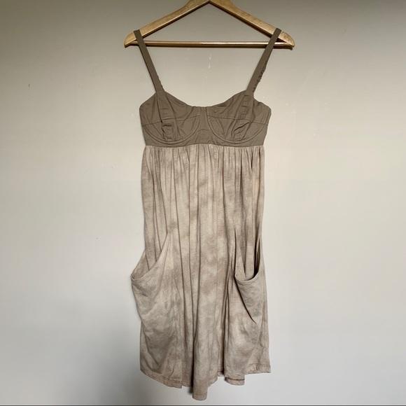 ARITZIA WILFRED | Boho Bustier Tie Dye Dress